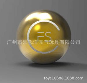 China Party Stage Decoration Inflatable Mirror Ball Fashion Show 2m Gold Glitter Balls on sale