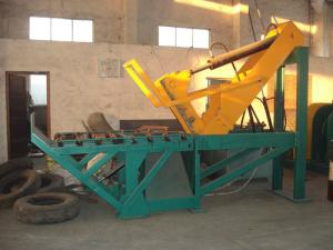 China PP Films / PE Tire Shredder Machines Waste Tyre Recycling Machine on sale