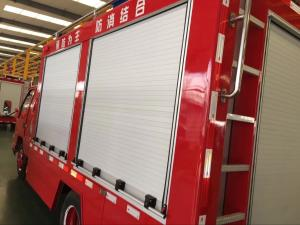 China Security Proofing Aluminum Rolling Shutter Door for Fire Vehicles on sale