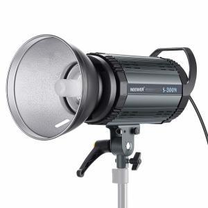 China Neewer S300N Professional Studio Monolight Strobe Flash Light-300W 5600K with Modeling Lamp,Aluminium Alloy Speedlite on sale