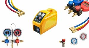 China refrigerant recovery machine freon filling charging machine on sale