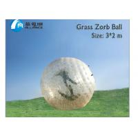 land zorb ball grass zorb for park outdoor sport inflatable toys