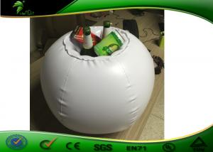 China PVC Inflatable Beer Cooler Digital Printing Inflatable Ice Bucket on sale
