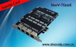 China Digium Octal-Span digital T1/E1/J1/PRI PCI-Express x1 card for asterisk trixbox elastix dahdi voip pbx on sale
