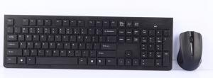 China 2.4Ghz wireless keyboard and mouse comb with good design on sale