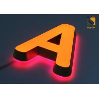 Mini Acrylic 3D LED Channel Letter Signs for Advertising Energy Saving