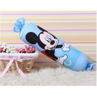 Candy Kids Decorative Bolster Pillows / Cotton Long Lumbar Pillow For Home