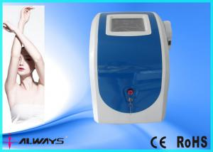 China Blue Portable IPL Hair Removal Machine For Home Use , 10 - 50J/cm2 Water Cooling on sale