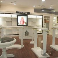 clothing display table/movable clothing display rack