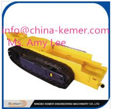 China pedrail structure chassis/undercarriage/track crawler undercarriage/steel CMS track pedrail undercarriage on sale