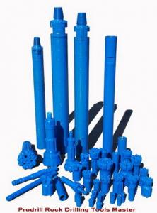 China Down The Hole Hammer Well Drilling , Air Drill Hammers And Bits With Longevity on sale