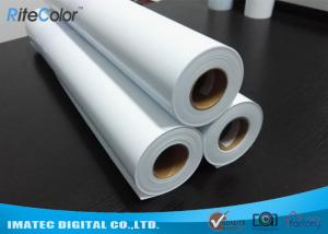 China Eco Solvent Matte PP Synthetic Paper , Solvent based Polypropylene Paper for Outdoor Display on sale