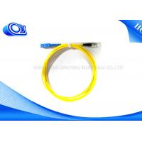 3 meters Single mode Fiber Optic Patch Cord SC To FC, 9/125