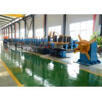 China Round Tube Mill Pipe Making Equipment Max 50m/Min Speed New Condition on sale