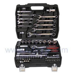 Quality TSH82-82pcs Professional Mechanic Combinatioin Socket Set/Garage Tools Set,CR-V for sale