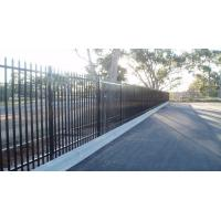 China Decorative and ornamental garden  2.1x2.4m school security fencing for sale on sale