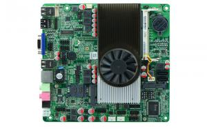 China Atom D2700 All in One POS Mini ITX Slim Motherboard M2V NM10 Express DDR3 1080P 8XUSB2.0 2XCOM on sale
