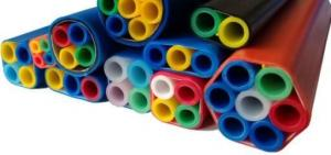 China Various Sizes  Hdpe Telecom Duct Pipe , Hdpe Sub Duct Quick Easy Installation on sale