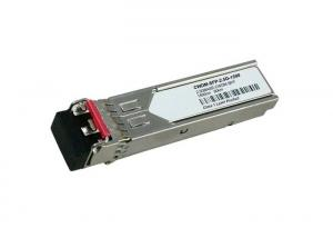 China 2.5G BiDi 80km CWDM Optical Transceiver Compliant With SFF-8472 3.3V Power Supply on sale