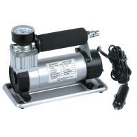 Silver Metal 12V Air Compressor Kit For Car 3M Cord With Cigarette Lighter