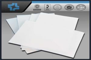 China White Slippery Teflon Ptfe Sheet , Virgin Ptfe Moulded Sheet on sale