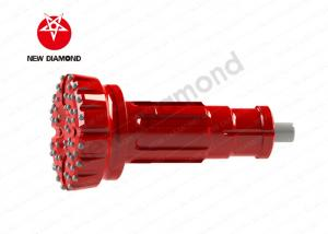 China 8 Spline 470mm DTH Hammer Bits Fit Rock Chisel Drilling Tool SD12 With Tail Pipe on sale
