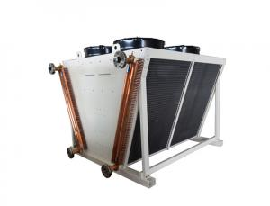 China Copper Tube Heat Exchanger Radiator , Remote Radiator For Generator Power Plant on sale