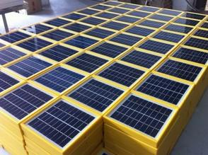 China Mono-Crystalline Solar Panel 6V2W A Grade on sale