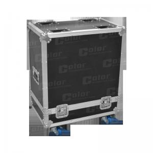 China Durable and Portable Aluminium LED Light Demo Flight Case , Demo Road Cases for Stage on sale