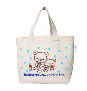 China customized canvas tote bag with logo printing on sale