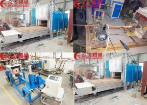 China Copper Plate Horizontal Continuous Casting Machine With High Efficiency on sale