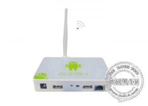 China Android OS WIFI Digital Signage Media Player Box With Remote Control Software , 3G Optional on sale