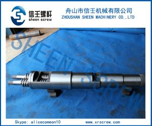 China CMT50 extruder conical twin screw and barrel on sale