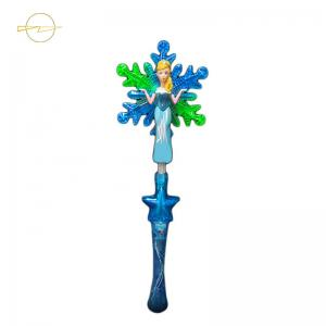 China Christmas Snowflake Light Up Wand Toy For Toddlers  ASTM Certification on sale