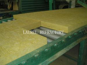 Quality Rockwool Fireproof Insulation Roof Panel / Fireproof Glass Wool Insulation for sale