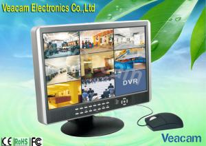 "China Graphical Interface H.264 Triplex 19"" LCD CCTV Monitors Of 120fps / 4CH ( CIF ) NTSC on sale"