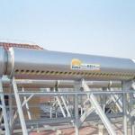 A água solar com o tubo do coletor do calor do vácuo do Todo-vidro, obtém o aquecedor de água solar fresco pela bobina da troca