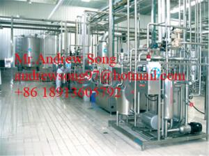 China linen type processing milk processing line on sale
