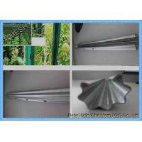 China Ce Certificate Metal Vineyard Posts 1.5mm Thickness Easy Installation on sale