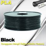 Black  PLA 3d Printer Filament  1.75mm /  3.0mm 1.0 KG / Roll