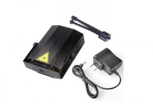 China IR Remote Laser Light Projector Mini Black Shell 105x95x50 Mm For KTV on sale