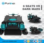 VR 6 Seats 9D Virtual Reality Electric VR  Interactive Machine Amusement Park Rides