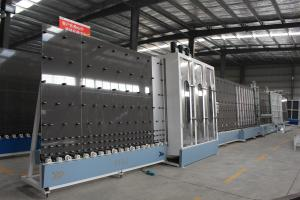 China High Efficiency Insulating Glass Machine PLC Control With High Automatic Degree on sale