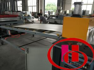 China High Efficiency Foam Plate Making Machine For Construction , 0.5-1m/Min Speed on sale