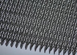 China Banda transportadora de la malla espiral del acero inoxidable para la hornada de la galleta, superficie lisa on sale