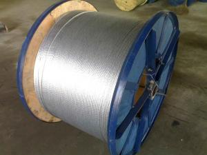 China Galfan Alloy Coating Steel Wire Strand on sale