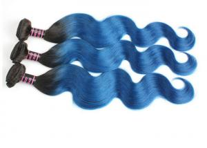 China 8A Ombre Colored Human Hair Extensions Full Cuticle Virgin Hair on sale