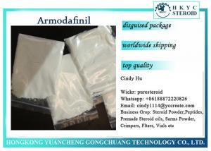 China Pharma Raw Material Armodafinil Nuvigil White Powder For Sleep Improving on sale