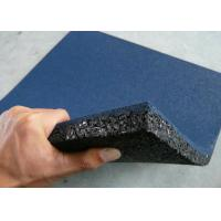 Grain Rubber Felt Floor Spill Mat , Industrial Rubber Sheet Thickness 10-50mm