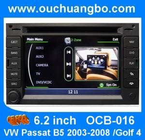 China Ouchuangbo audio car cd dvd player for VW Passat B5 2003-2007 with auto stereo hot selling OCB-016 on sale